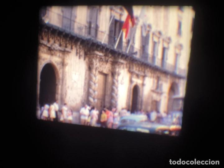 Cine: ANTIGUA BOBINA-DE PELÍCULA-FILMACIONES AMATEUR-FOGUERES-SANT JOAN (1973) SUPER 8 MM, RETRO FILM - Foto 7 - 212835668