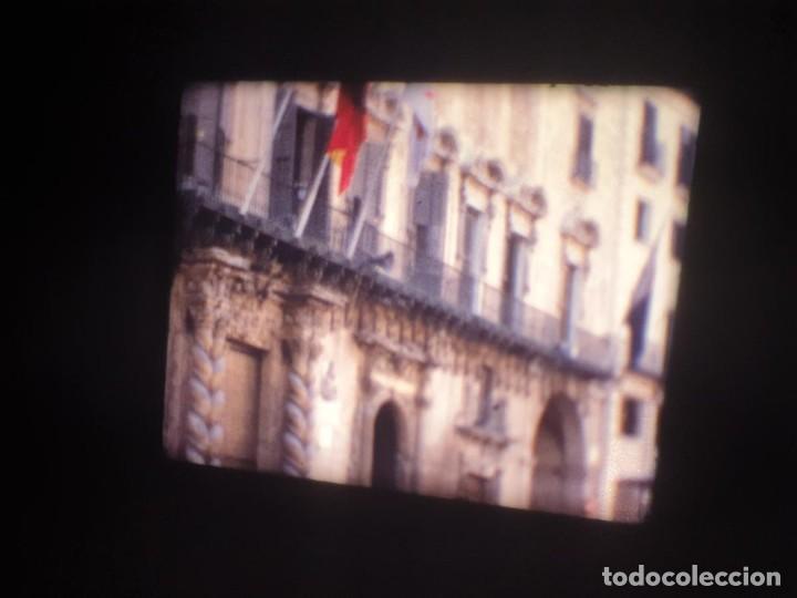 Cine: ANTIGUA BOBINA-DE PELÍCULA-FILMACIONES AMATEUR-FOGUERES-SANT JOAN (1973) SUPER 8 MM, RETRO FILM - Foto 8 - 212835668