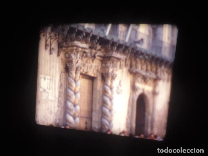 Cine: ANTIGUA BOBINA-DE PELÍCULA-FILMACIONES AMATEUR-FOGUERES-SANT JOAN (1973) SUPER 8 MM, RETRO FILM - Foto 9 - 212835668