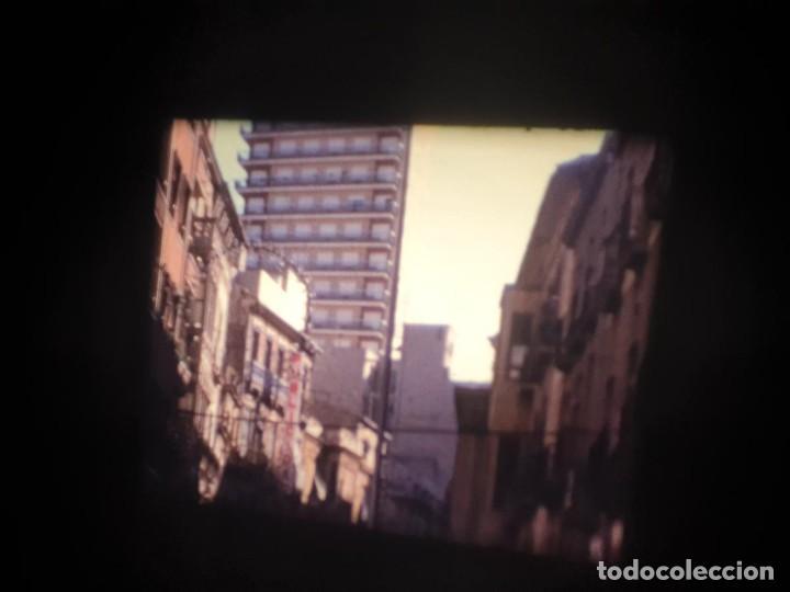 Cine: ANTIGUA BOBINA-DE PELÍCULA-FILMACIONES AMATEUR-FOGUERES-SANT JOAN (1973) SUPER 8 MM, RETRO FILM - Foto 12 - 212835668