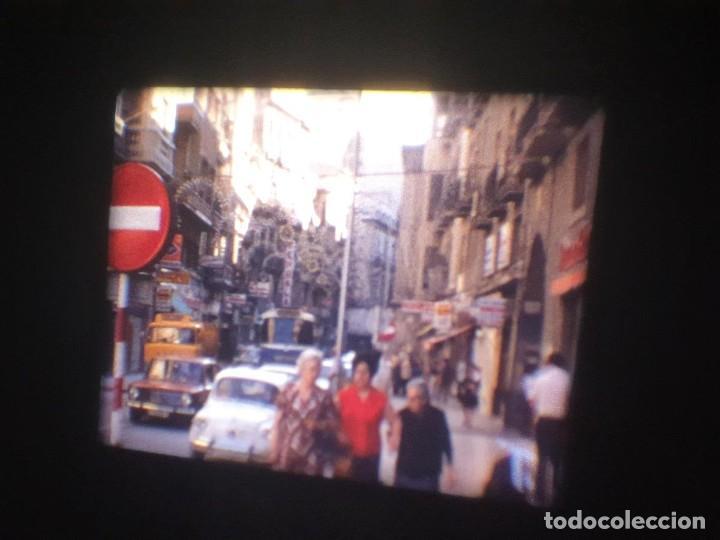 Cine: ANTIGUA BOBINA-DE PELÍCULA-FILMACIONES AMATEUR-FOGUERES-SANT JOAN (1973) SUPER 8 MM, RETRO FILM - Foto 13 - 212835668