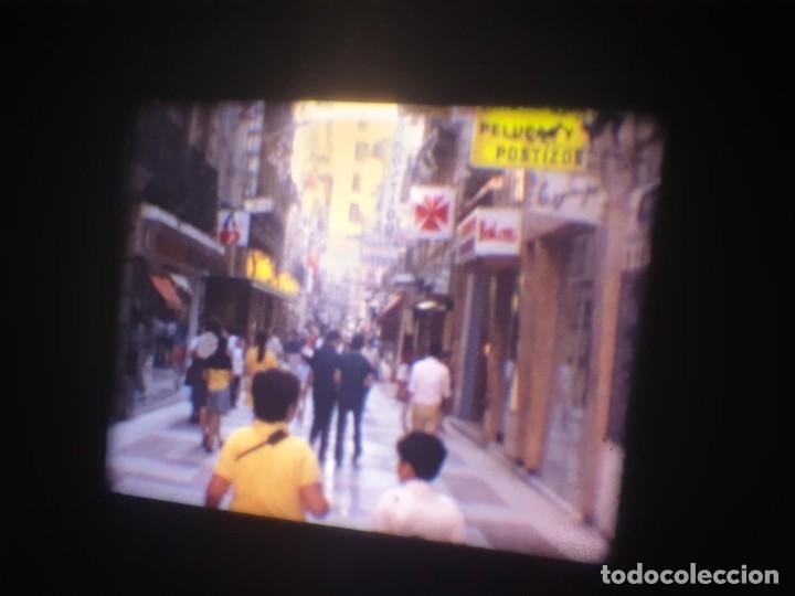 Cine: ANTIGUA BOBINA-DE PELÍCULA-FILMACIONES AMATEUR-FOGUERES-SANT JOAN (1973) SUPER 8 MM, RETRO FILM - Foto 14 - 212835668