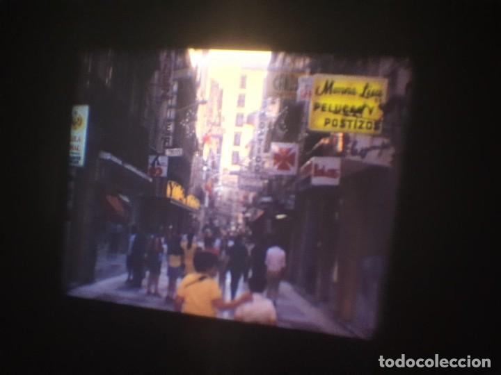 Cine: ANTIGUA BOBINA-DE PELÍCULA-FILMACIONES AMATEUR-FOGUERES-SANT JOAN (1973) SUPER 8 MM, RETRO FILM - Foto 15 - 212835668