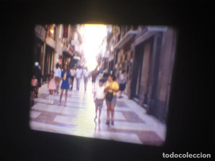 Cine: ANTIGUA BOBINA-DE PELÍCULA-FILMACIONES AMATEUR-FOGUERES-SANT JOAN (1973) SUPER 8 MM, RETRO FILM - Foto 16 - 212835668