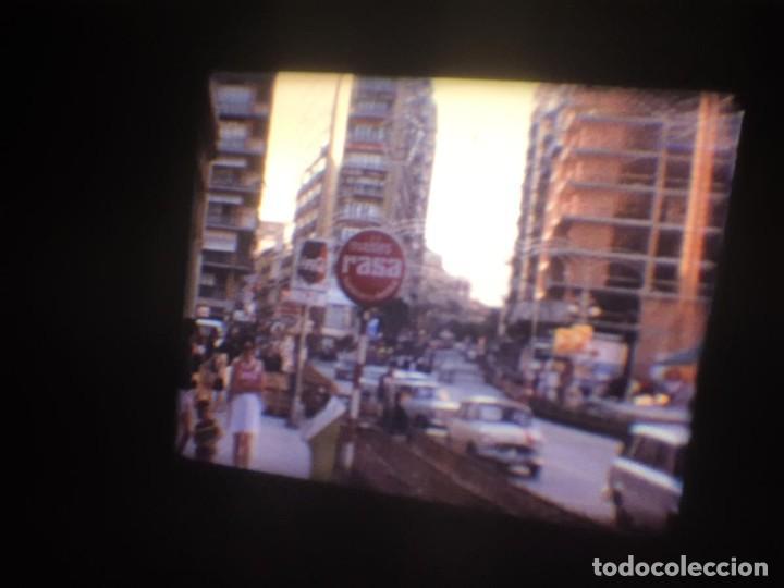 Cine: ANTIGUA BOBINA-DE PELÍCULA-FILMACIONES AMATEUR-FOGUERES-SANT JOAN (1973) SUPER 8 MM, RETRO FILM - Foto 21 - 212835668