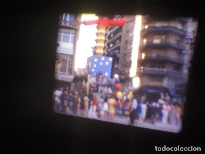 Cine: ANTIGUA BOBINA-DE PELÍCULA-FILMACIONES AMATEUR-FOGUERES-SANT JOAN (1973) SUPER 8 MM, RETRO FILM - Foto 23 - 212835668