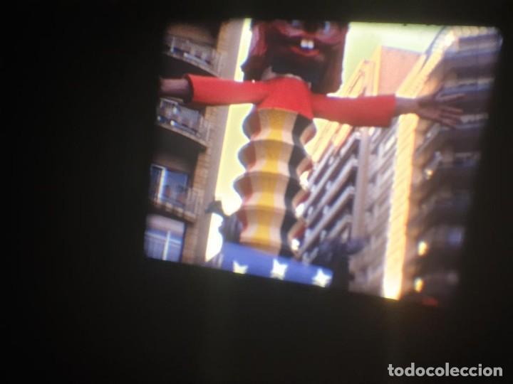 Cine: ANTIGUA BOBINA-DE PELÍCULA-FILMACIONES AMATEUR-FOGUERES-SANT JOAN (1973) SUPER 8 MM, RETRO FILM - Foto 27 - 212835668