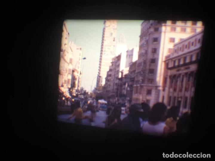 Cine: ANTIGUA BOBINA-DE PELÍCULA-FILMACIONES AMATEUR-FOGUERES-SANT JOAN (1973) SUPER 8 MM, RETRO FILM - Foto 29 - 212835668