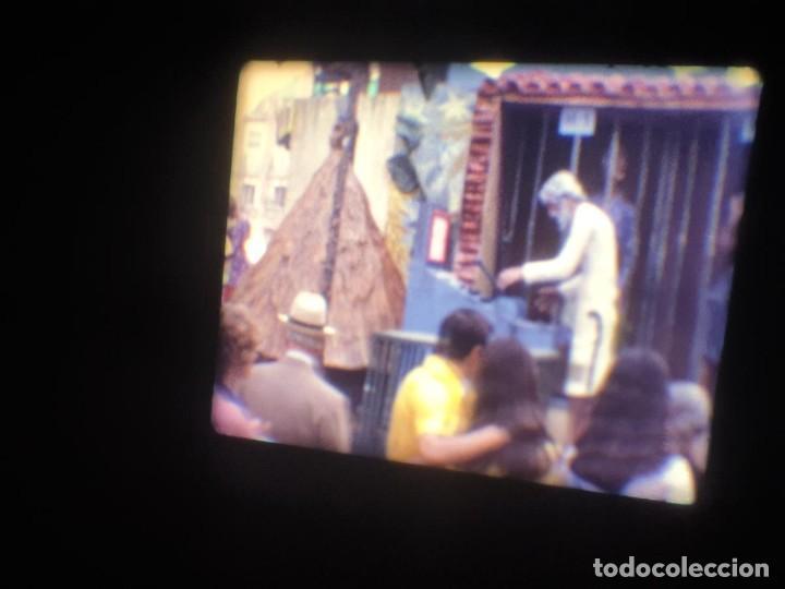 Cine: ANTIGUA BOBINA-DE PELÍCULA-FILMACIONES AMATEUR-FOGUERES-SANT JOAN (1973) SUPER 8 MM, RETRO FILM - Foto 32 - 212835668
