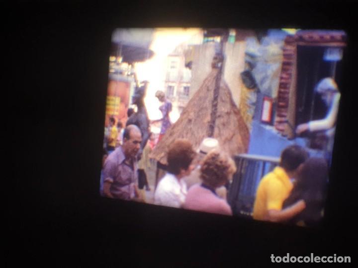 Cine: ANTIGUA BOBINA-DE PELÍCULA-FILMACIONES AMATEUR-FOGUERES-SANT JOAN (1973) SUPER 8 MM, RETRO FILM - Foto 33 - 212835668