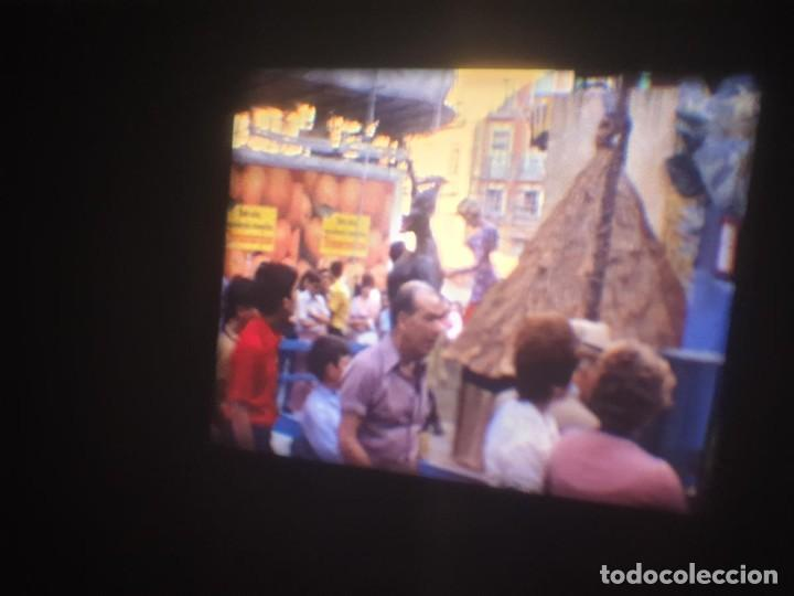 Cine: ANTIGUA BOBINA-DE PELÍCULA-FILMACIONES AMATEUR-FOGUERES-SANT JOAN (1973) SUPER 8 MM, RETRO FILM - Foto 34 - 212835668