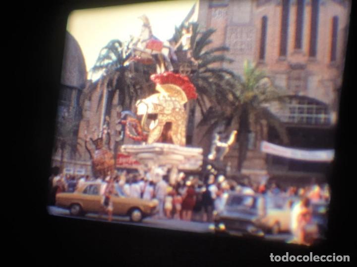 Cine: ANTIGUA BOBINA-DE PELÍCULA-FILMACIONES AMATEUR-FOGUERES-SANT JOAN (1973) SUPER 8 MM, RETRO FILM - Foto 39 - 212835668
