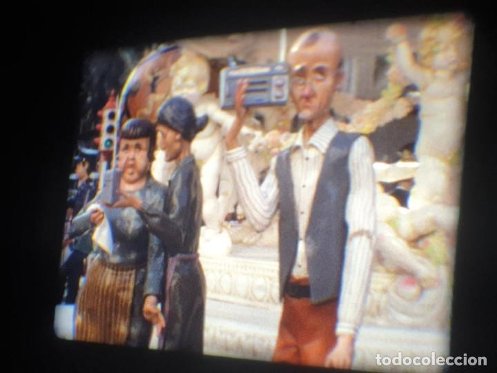 Cine: ANTIGUA BOBINA-DE PELÍCULA-FILMACIONES AMATEUR-FOGUERES-SANT JOAN (1973) SUPER 8 MM, RETRO FILM - Foto 43 - 212835668