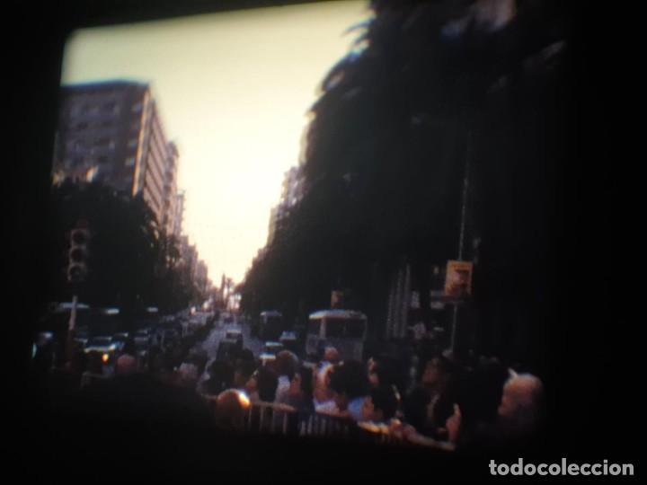Cine: ANTIGUA BOBINA-DE PELÍCULA-FILMACIONES AMATEUR-FOGUERES-SANT JOAN (1973) SUPER 8 MM, RETRO FILM - Foto 44 - 212835668