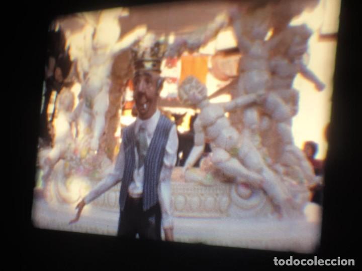 Cine: ANTIGUA BOBINA-DE PELÍCULA-FILMACIONES AMATEUR-FOGUERES-SANT JOAN (1973) SUPER 8 MM, RETRO FILM - Foto 45 - 212835668