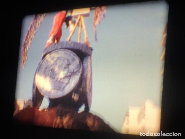 Cine: ANTIGUA BOBINA-DE PELÍCULA-FILMACIONES AMATEUR-FOGUERES-SANT JOAN (1973) SUPER 8 MM, RETRO FILM - Foto 50 - 212835668