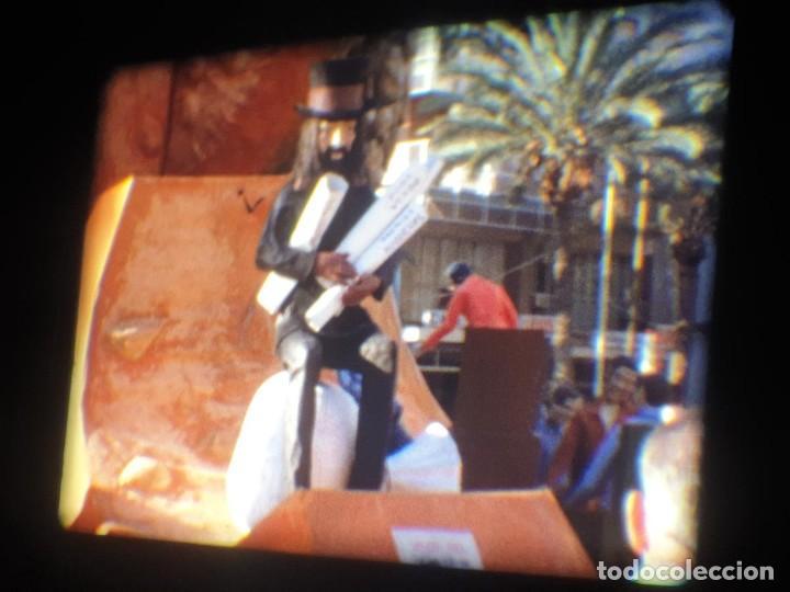Cine: ANTIGUA BOBINA-DE PELÍCULA-FILMACIONES AMATEUR-FOGUERES-SANT JOAN (1973) SUPER 8 MM, RETRO FILM - Foto 51 - 212835668