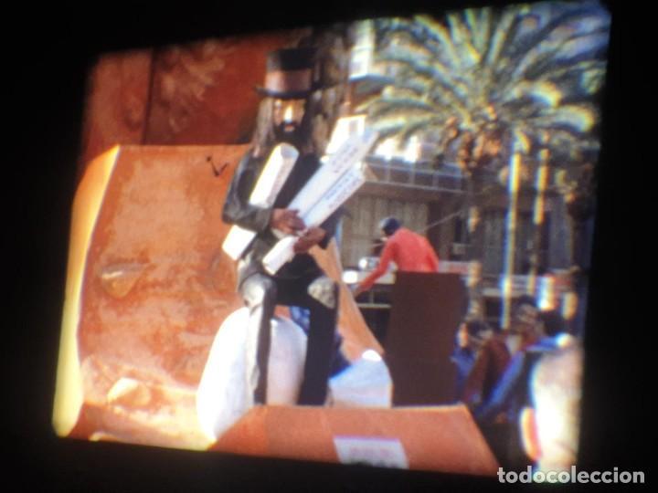 Cine: ANTIGUA BOBINA-DE PELÍCULA-FILMACIONES AMATEUR-FOGUERES-SANT JOAN (1973) SUPER 8 MM, RETRO FILM - Foto 52 - 212835668