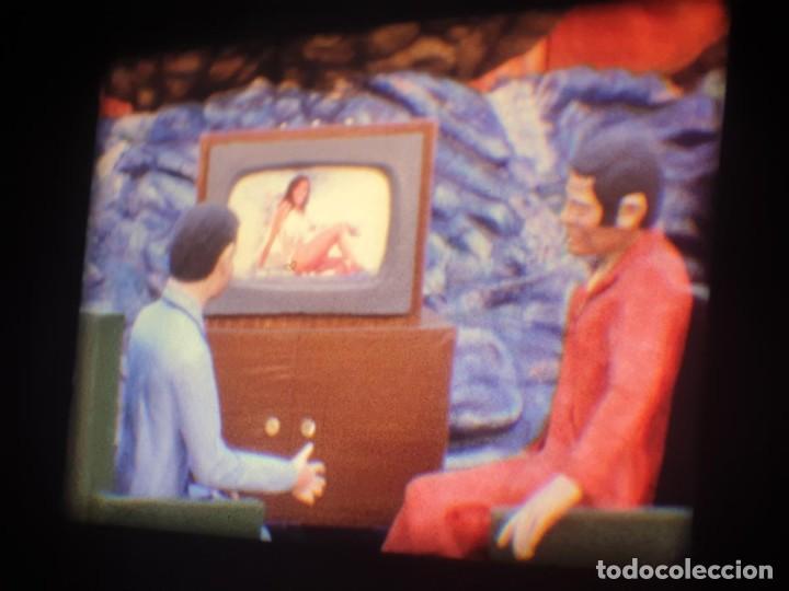 Cine: ANTIGUA BOBINA-DE PELÍCULA-FILMACIONES AMATEUR-FOGUERES-SANT JOAN (1973) SUPER 8 MM, RETRO FILM - Foto 53 - 212835668