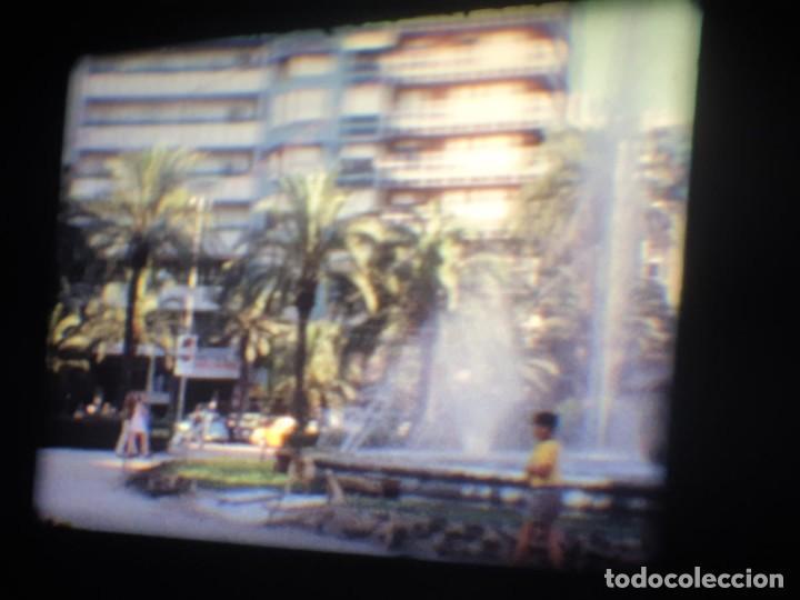 Cine: ANTIGUA BOBINA-DE PELÍCULA-FILMACIONES AMATEUR-FOGUERES-SANT JOAN (1973) SUPER 8 MM, RETRO FILM - Foto 61 - 212835668