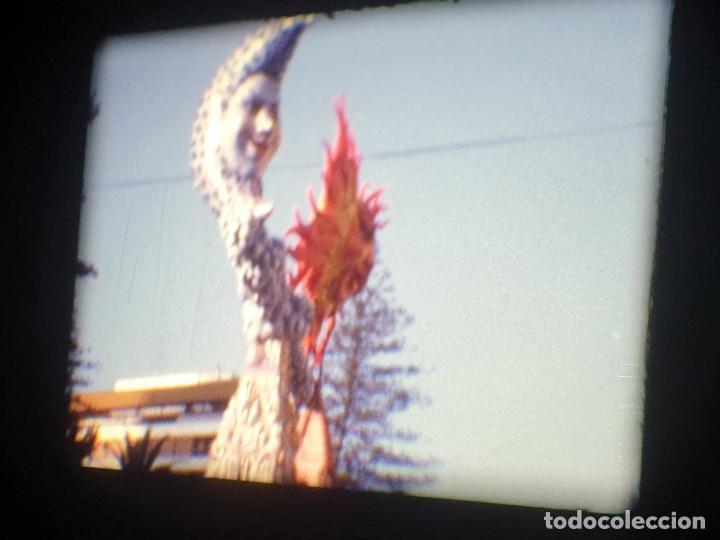 Cine: ANTIGUA BOBINA-DE PELÍCULA-FILMACIONES AMATEUR-FOGUERES-SANT JOAN (1973) SUPER 8 MM, RETRO FILM - Foto 72 - 212835668