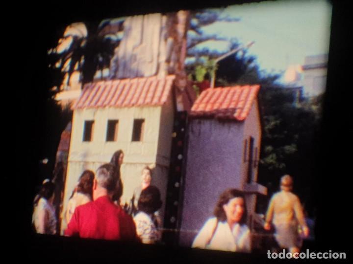 Cine: ANTIGUA BOBINA-DE PELÍCULA-FILMACIONES AMATEUR-FOGUERES-SANT JOAN (1973) SUPER 8 MM, RETRO FILM - Foto 73 - 212835668