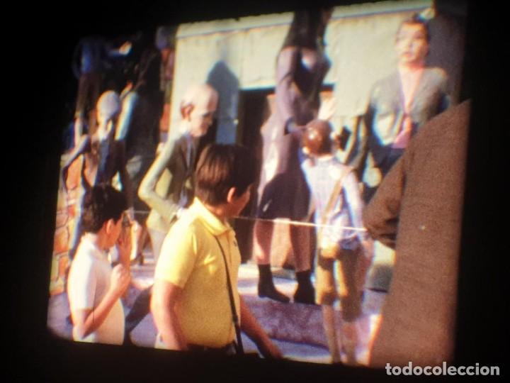 Cine: ANTIGUA BOBINA-DE PELÍCULA-FILMACIONES AMATEUR-FOGUERES-SANT JOAN (1973) SUPER 8 MM, RETRO FILM - Foto 74 - 212835668