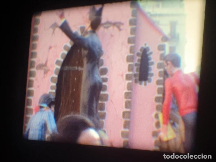 Cine: ANTIGUA BOBINA-DE PELÍCULA-FILMACIONES AMATEUR-FOGUERES-SANT JOAN (1973) SUPER 8 MM, RETRO FILM - Foto 76 - 212835668