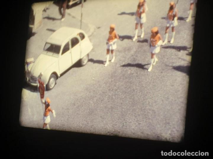 Cine: ANTIGUA BOBINA-DE PELÍCULA-FILMACIONES AMATEUR-FOGUERES-SANT JOAN (1973) SUPER 8 MM, RETRO FILM - Foto 79 - 212835668