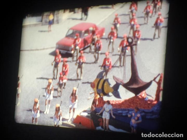 Cine: ANTIGUA BOBINA-DE PELÍCULA-FILMACIONES AMATEUR-FOGUERES-SANT JOAN (1973) SUPER 8 MM, RETRO FILM - Foto 82 - 212835668