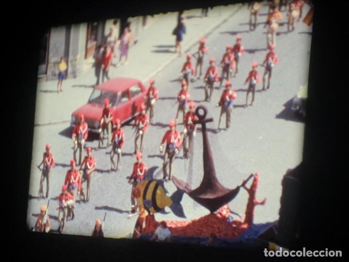 Cine: ANTIGUA BOBINA-DE PELÍCULA-FILMACIONES AMATEUR-FOGUERES-SANT JOAN (1973) SUPER 8 MM, RETRO FILM - Foto 83 - 212835668