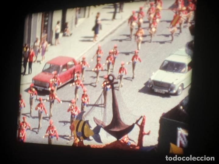Cine: ANTIGUA BOBINA-DE PELÍCULA-FILMACIONES AMATEUR-FOGUERES-SANT JOAN (1973) SUPER 8 MM, RETRO FILM - Foto 84 - 212835668
