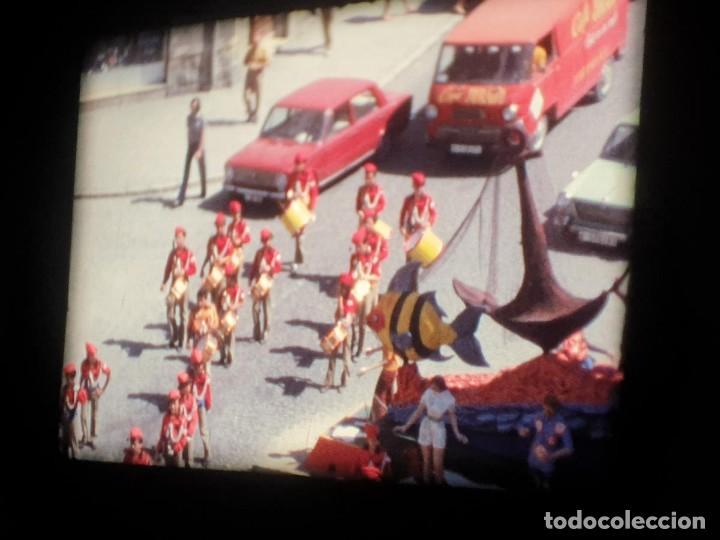 Cine: ANTIGUA BOBINA-DE PELÍCULA-FILMACIONES AMATEUR-FOGUERES-SANT JOAN (1973) SUPER 8 MM, RETRO FILM - Foto 85 - 212835668