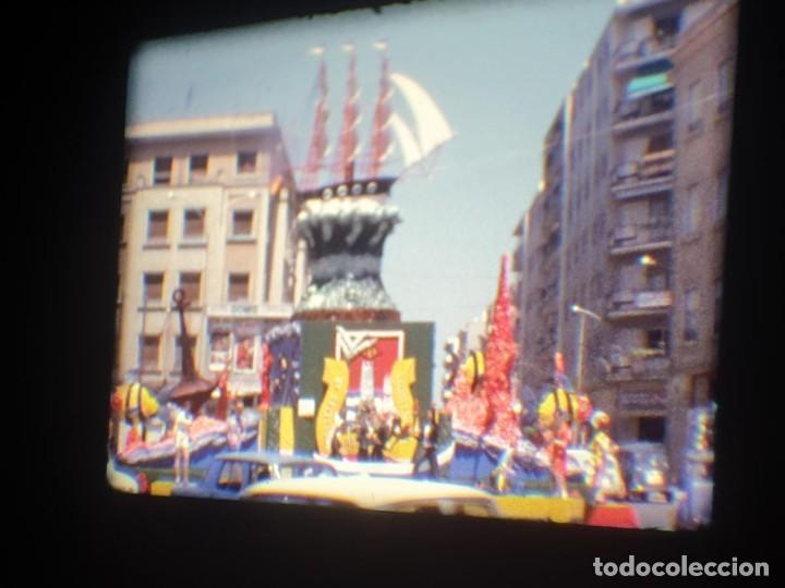 Cine: ANTIGUA BOBINA-DE PELÍCULA-FILMACIONES AMATEUR-FOGUERES-SANT JOAN (1973) SUPER 8 MM, RETRO FILM - Foto 92 - 212835668