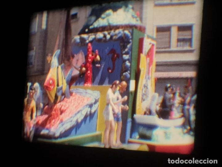 Cine: ANTIGUA BOBINA-DE PELÍCULA-FILMACIONES AMATEUR-FOGUERES-SANT JOAN (1973) SUPER 8 MM, RETRO FILM - Foto 94 - 212835668