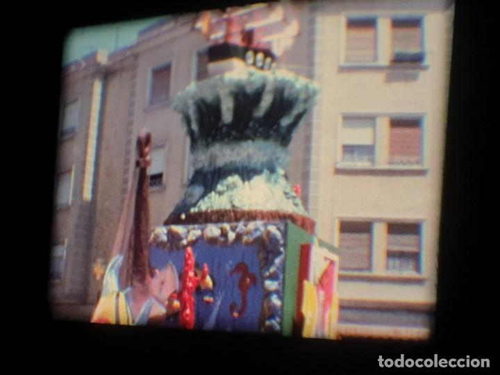 Cine: ANTIGUA BOBINA-DE PELÍCULA-FILMACIONES AMATEUR-FOGUERES-SANT JOAN (1973) SUPER 8 MM, RETRO FILM - Foto 95 - 212835668