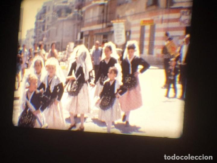 Cine: ANTIGUA BOBINA-DE PELÍCULA-FILMACIONES AMATEUR-FOGUERES-SANT JOAN (1973) SUPER 8 MM, RETRO FILM - Foto 98 - 212835668