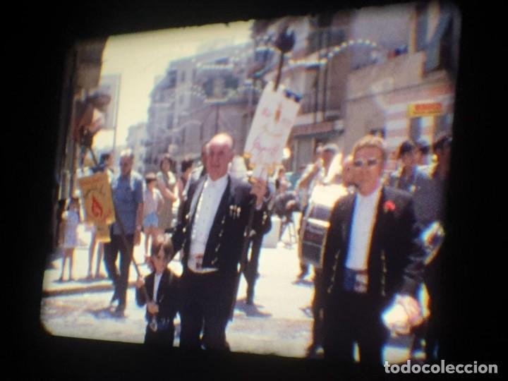 Cine: ANTIGUA BOBINA-DE PELÍCULA-FILMACIONES AMATEUR-FOGUERES-SANT JOAN (1973) SUPER 8 MM, RETRO FILM - Foto 99 - 212835668
