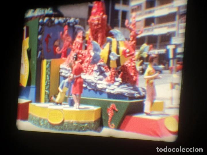 Cine: ANTIGUA BOBINA-DE PELÍCULA-FILMACIONES AMATEUR-FOGUERES-SANT JOAN (1973) SUPER 8 MM, RETRO FILM - Foto 101 - 212835668