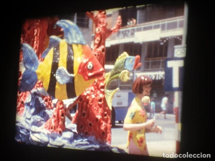 Cine: ANTIGUA BOBINA-DE PELÍCULA-FILMACIONES AMATEUR-FOGUERES-SANT JOAN (1973) SUPER 8 MM, RETRO FILM - Foto 103 - 212835668
