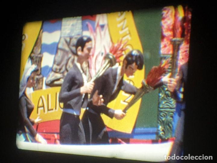 Cine: ANTIGUA BOBINA-DE PELÍCULA-FILMACIONES AMATEUR-FOGUERES-SANT JOAN (1973) SUPER 8 MM, RETRO FILM - Foto 104 - 212835668
