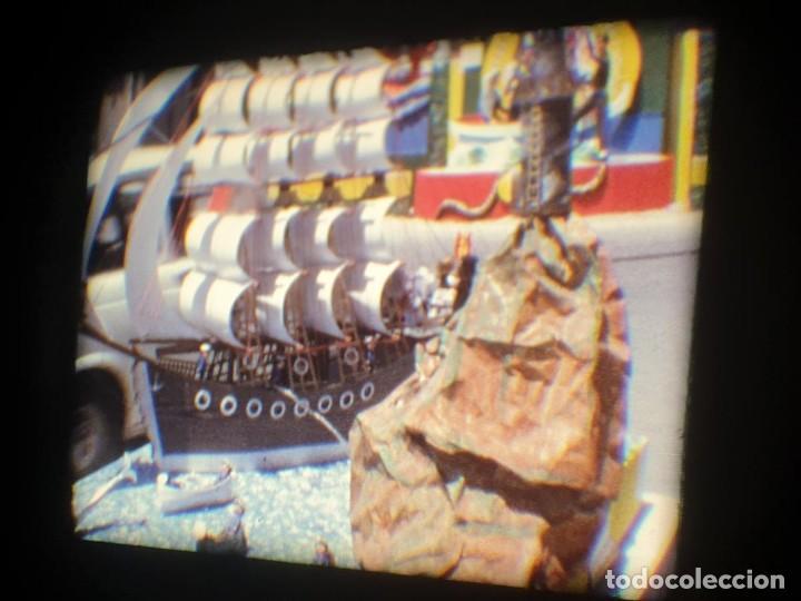 Cine: ANTIGUA BOBINA-DE PELÍCULA-FILMACIONES AMATEUR-FOGUERES-SANT JOAN (1973) SUPER 8 MM, RETRO FILM - Foto 105 - 212835668