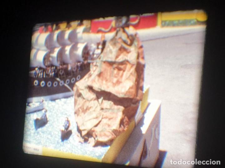 Cine: ANTIGUA BOBINA-DE PELÍCULA-FILMACIONES AMATEUR-FOGUERES-SANT JOAN (1973) SUPER 8 MM, RETRO FILM - Foto 106 - 212835668