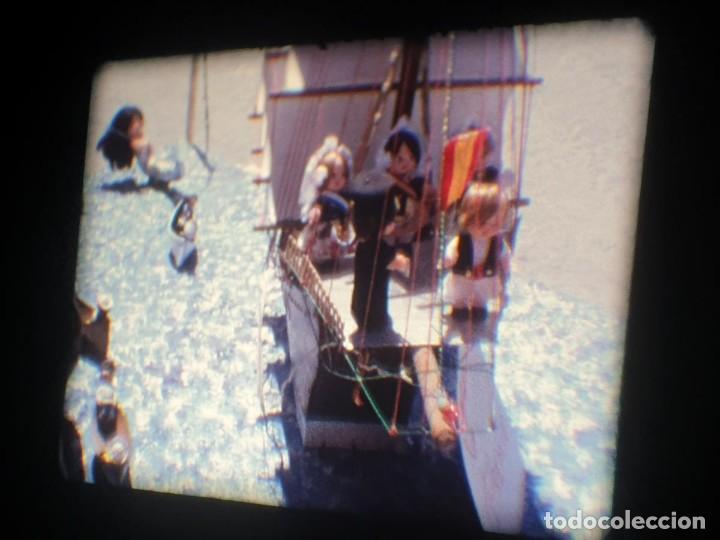 Cine: ANTIGUA BOBINA-DE PELÍCULA-FILMACIONES AMATEUR-FOGUERES-SANT JOAN (1973) SUPER 8 MM, RETRO FILM - Foto 107 - 212835668
