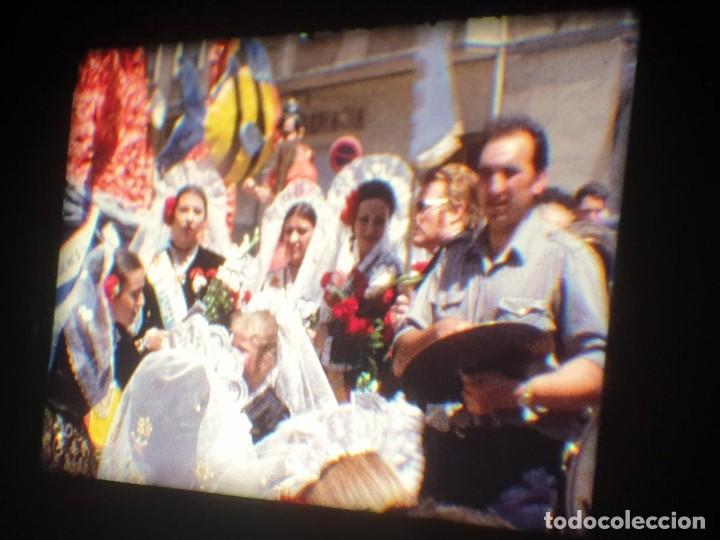 Cine: ANTIGUA BOBINA-DE PELÍCULA-FILMACIONES AMATEUR-FOGUERES-SANT JOAN (1973) SUPER 8 MM, RETRO FILM - Foto 108 - 212835668