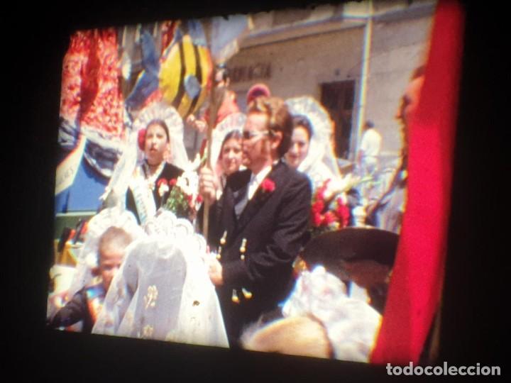 Cine: ANTIGUA BOBINA-DE PELÍCULA-FILMACIONES AMATEUR-FOGUERES-SANT JOAN (1973) SUPER 8 MM, RETRO FILM - Foto 109 - 212835668
