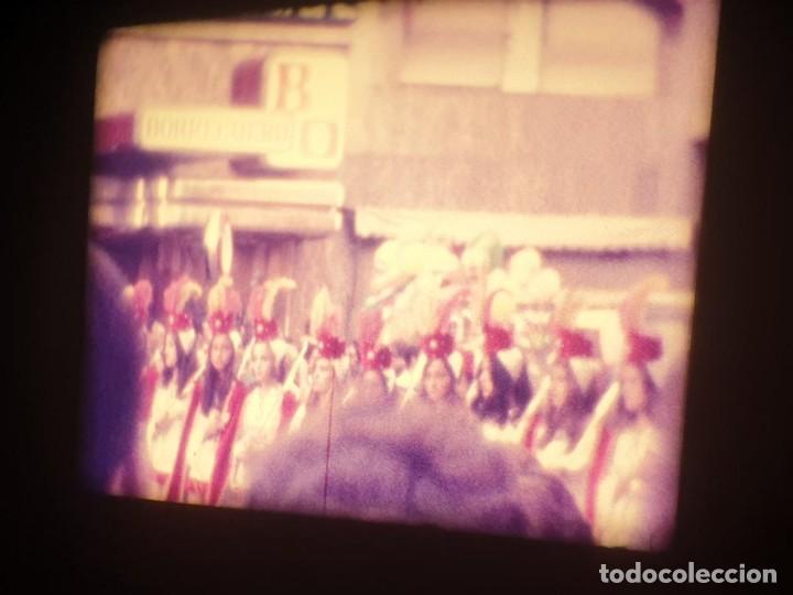 Cine: ANTIGUA BOBINA-DE PELÍCULA-FILMACIONES AMATEUR-FOGUERES-SANT JOAN (1973) SUPER 8 MM, RETRO FILM - Foto 110 - 212835668