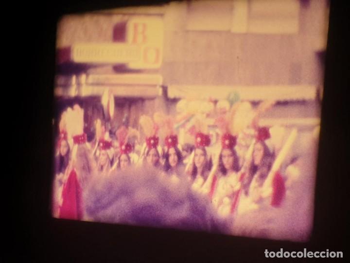 Cine: ANTIGUA BOBINA-DE PELÍCULA-FILMACIONES AMATEUR-FOGUERES-SANT JOAN (1973) SUPER 8 MM, RETRO FILM - Foto 111 - 212835668