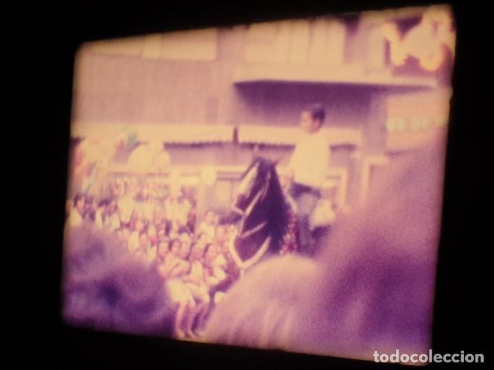Cine: ANTIGUA BOBINA-DE PELÍCULA-FILMACIONES AMATEUR-FOGUERES-SANT JOAN (1973) SUPER 8 MM, RETRO FILM - Foto 115 - 212835668