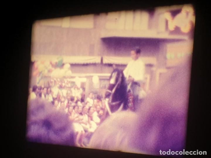 Cine: ANTIGUA BOBINA-DE PELÍCULA-FILMACIONES AMATEUR-FOGUERES-SANT JOAN (1973) SUPER 8 MM, RETRO FILM - Foto 116 - 212835668